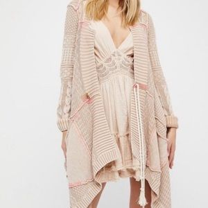Free People All Wash Out Cardigan Sweater Top XS